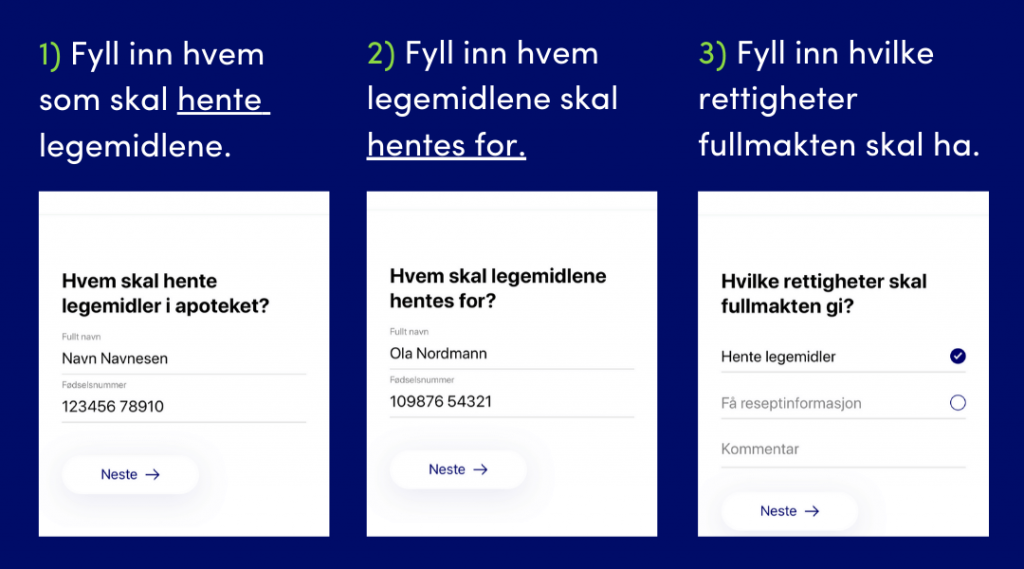 Digital Fullmakt hos Ditt Apotek
